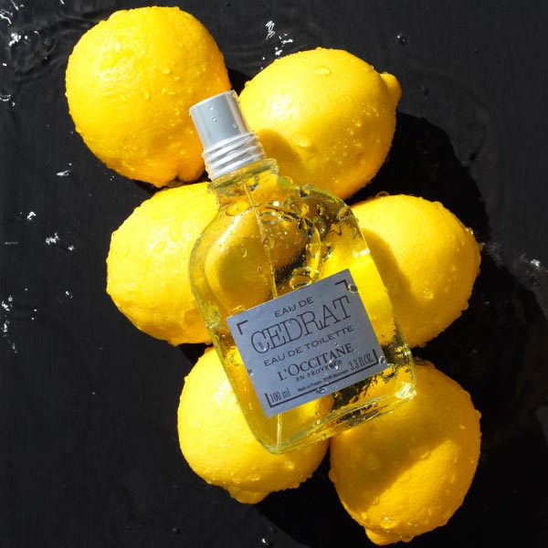 A grooming collection with authentic citrus scent - L'OCCITANE