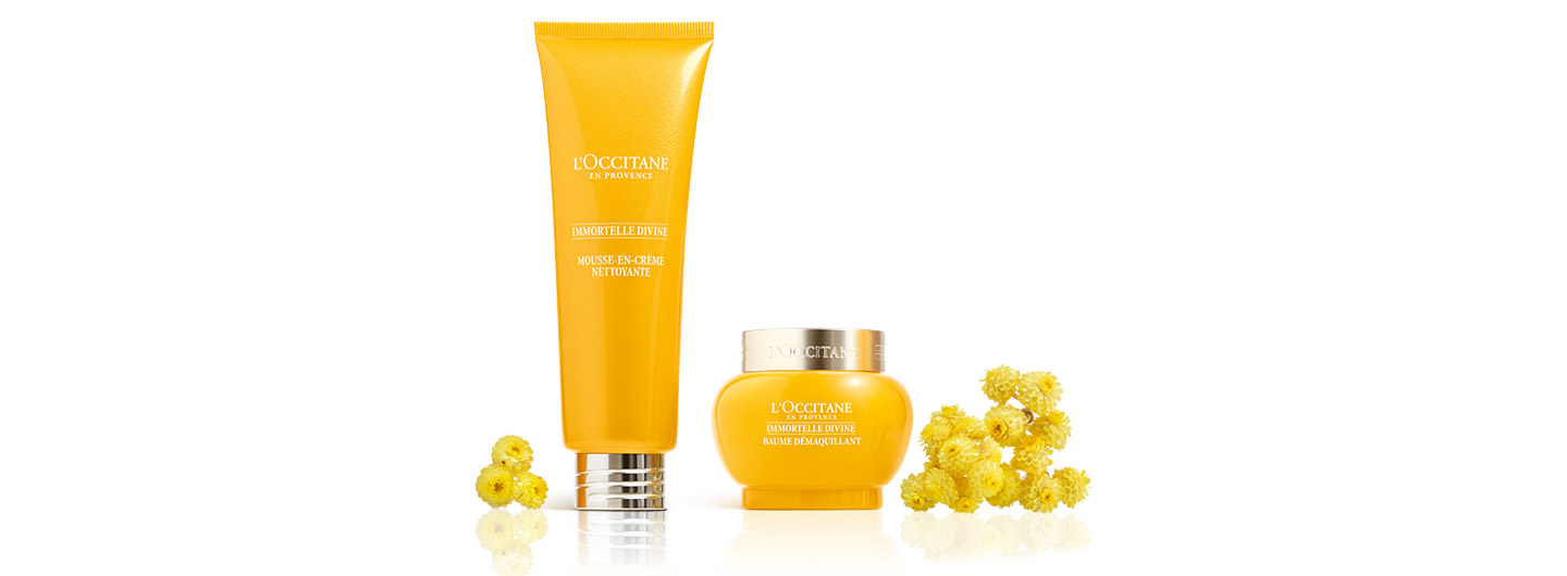 L'Occitane en Provence - Anti aging cleansing products