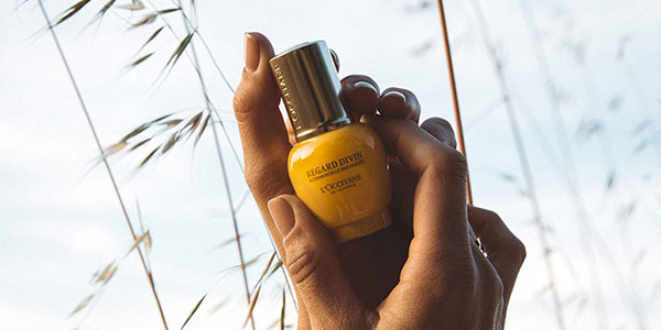 Focus your gaze - L'OCCITANE