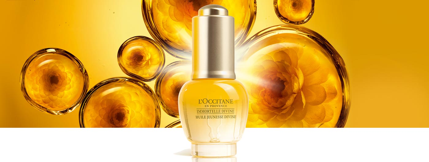 L'OCCITANE- NEW! IMPROVED FORMULA Divine Youth Oil