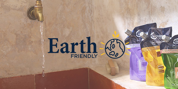 EARTH FRIENDLY - L'OCCITANE
