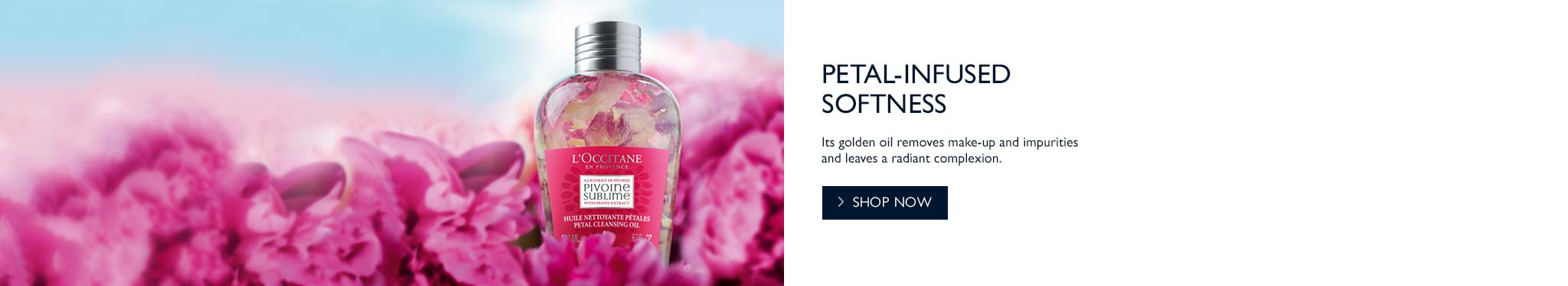 Petal-infused Softness |NEW Pivoine Sublime Petal Cleansing Oil