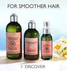 For Smoother Hair, Discover Our Aromachologie Repairing Collection