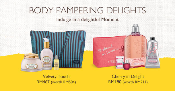body pampering delights