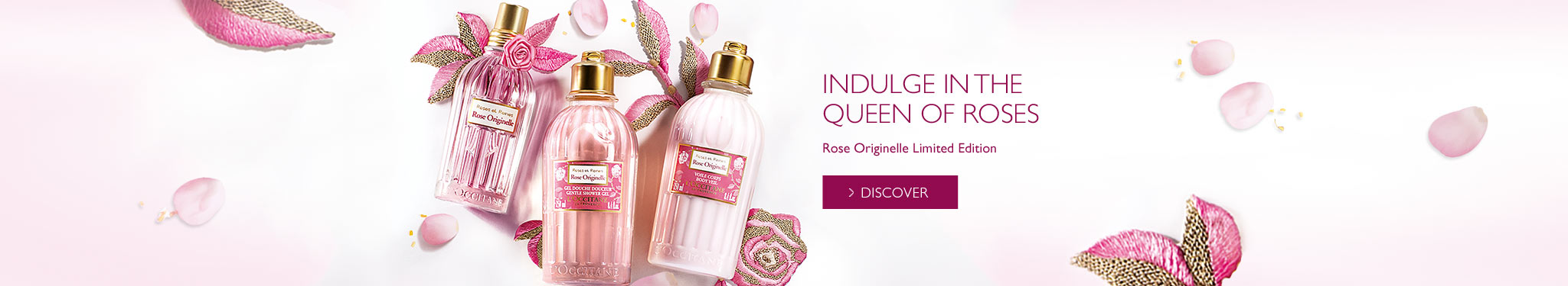 Indulge in the new limited edition rose originelle range